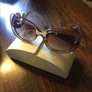 PRADA Baroque Sunglasses w/original case